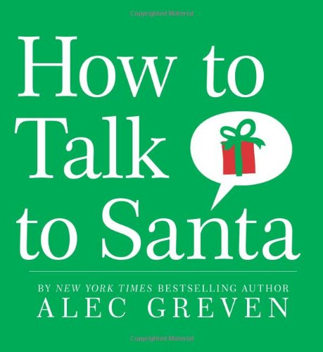 How to Talk to Santa   2009 9780061802072 Front Cover