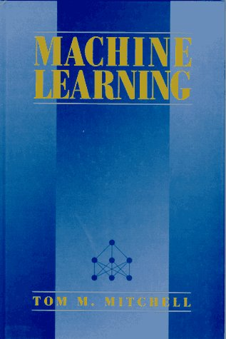 Machine Learning   1997 edition cover