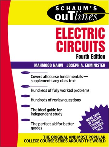 Electric Circuits  4th 2003 (Revised) 9780071393072 Front Cover