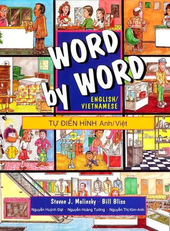 Word by Word Picture Dictionary English/Vietnamese Edition 1st 1997 9780132786072 Front Cover