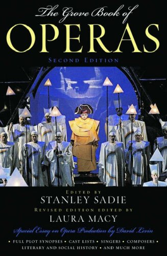 Grove Book of Operas  2nd 2006 (Revised) edition cover