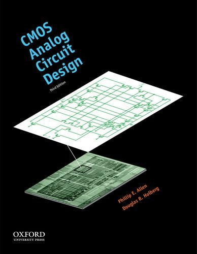 CMOS Analog Circuit Design  3rd 2011 9780199765072 Front Cover