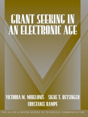 Grant Seeking in an Electronic Age   2004 9780321160072 Front Cover