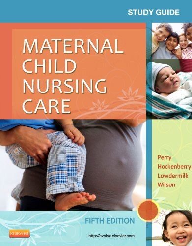 Study Guide for Maternal Child Nursing Care  5th 2013 edition cover