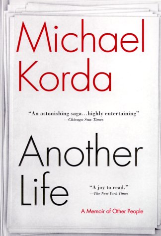 Another Life A Memoir of Other People  2000 edition cover