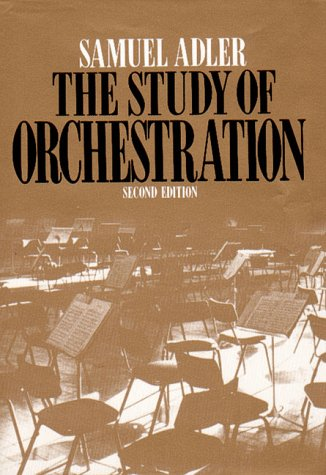 Study of Orchestration 2nd 1989 edition cover