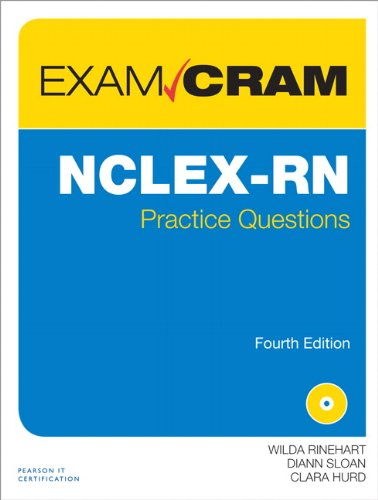 NCLEX-RN Practice Questions Exam Cram  4th 2013 edition cover