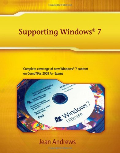 Supporting Windows 7   2011 edition cover