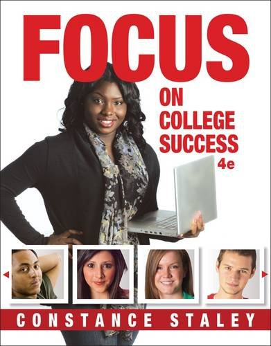 FOCUS on College Success  4th 2015 edition cover