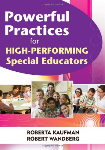 Powerful Practices for High-Performing Special Educators   2010 edition cover