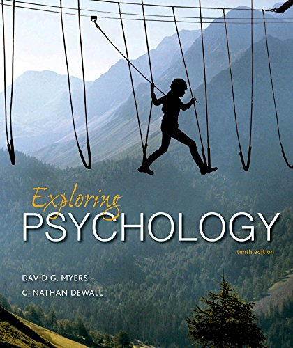Cover art for Exploring Psychology, 10th Edition