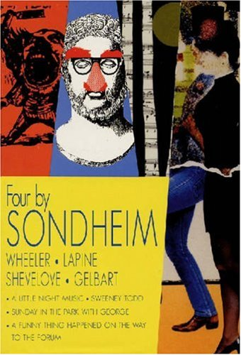 Four by Sondheim Wheeler, Lapine, Shevelove, Gelbart  2000 9781557834072 Front Cover