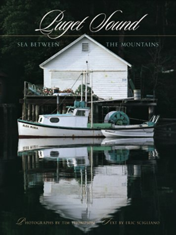 Puget Sound Sea Between the Mountains  2000 9781558684072 Front Cover