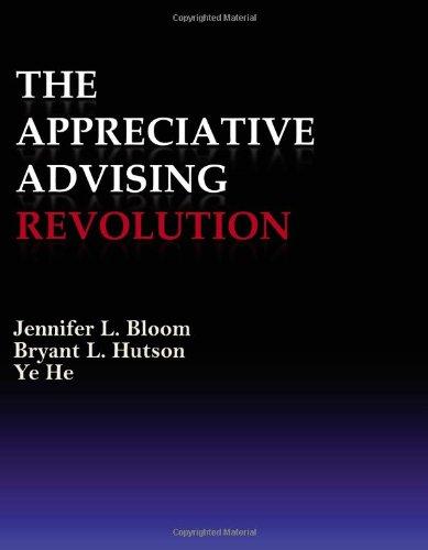 Appreciative Advising Revolution N/A edition cover