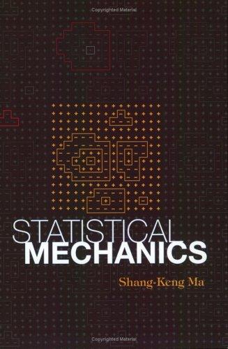 Statistical Mechanics N/A edition cover