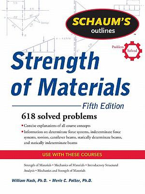 Schaum's Outline of Strength of Mat  N/A 9780071635073 Front Cover