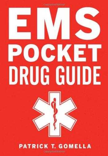 EMS Pocket Drug Guide   2010 9780071664073 Front Cover
