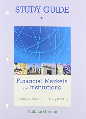 Financial Markets and Institutions:   2014 edition cover