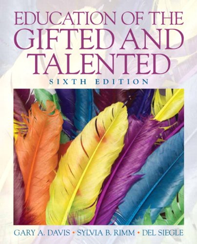 Education of the Gifted and Talented  6th 2011 edition cover
