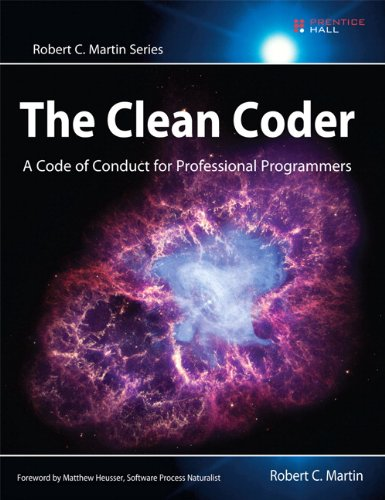 Clean Coder A Code of Conduct for Professional Programmers  2011 (Revised) edition cover