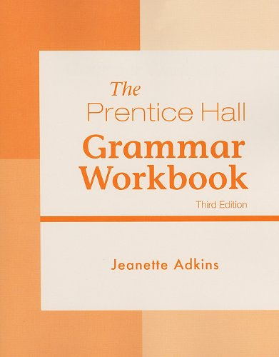 Prentice Hall - Grammar Workbook  3rd 2011 (Revised) edition cover