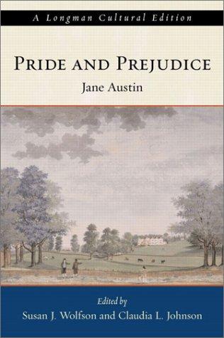 Pride and Prejudice   2003 edition cover