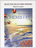 Student's Selected Solutions Manual for Introductory Chemistry  5th 2015 edition cover