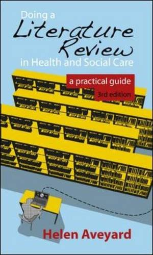Doing a Literature Review in Health and Social Care A Practical Guide 3rd 2014 edition cover