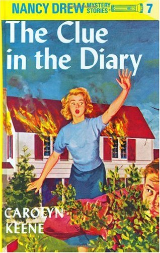 Clue in the Diary   1990 edition cover