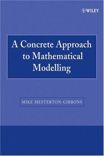 Concrete Approach to Mathematical Modelling   1995 edition cover