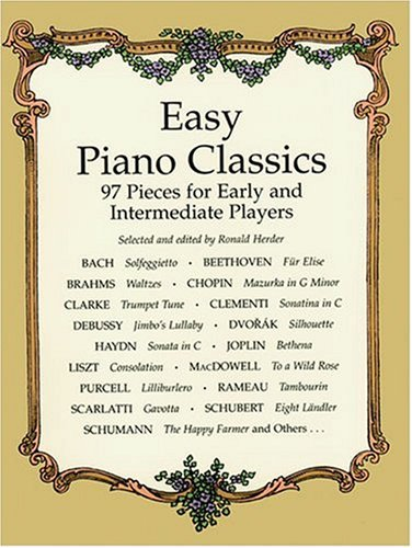 Easy Piano Classics 97 Pieces for Early and Intermediate Players N/A edition cover