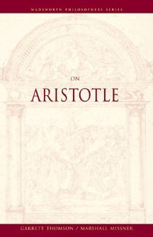 On Aristotle   2000 9780534576073 Front Cover