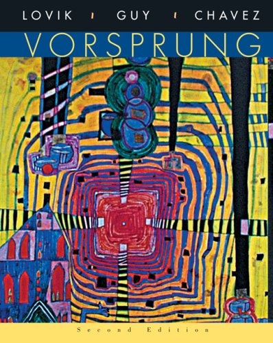 Vorsprung A Communicative Introduction to German Language and Culture 2nd 2007 edition cover