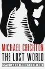 Lost World  Large Type  edition cover
