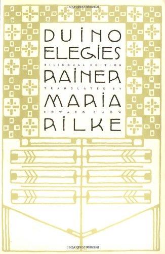 Duino Elegies A Bilingual Edition N/A edition cover