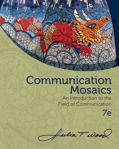 COMMUNICATION MOSAICS-W/COURSEMATE      N/A 9781285730073 Front Cover