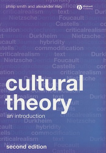 Cultural Theory An Introduction 2nd 2008 9781405169073 Front Cover