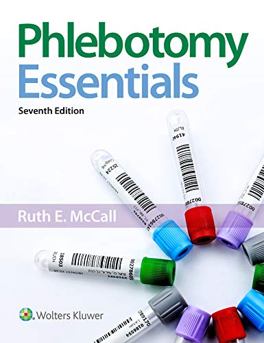 Phlebotomy Essentials  7th 2019 (Revised) 9781496387073 Front Cover