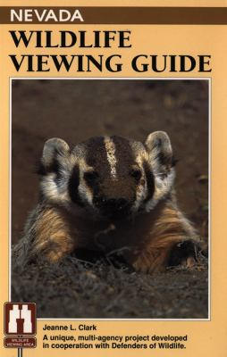 Nevada Wildlife Viewing Guide   1993 9781560442073 Front Cover