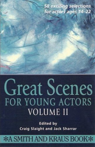Great Scenes for Young Actors N/A edition cover