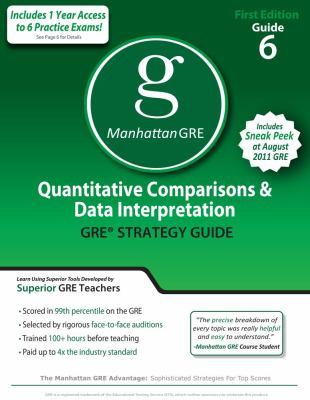 Quantitative Comparisons and Data Interpretation  N/A 9781935707073 Front Cover
