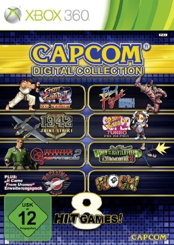 Capcom Digital Collection Xbox 360 artwork