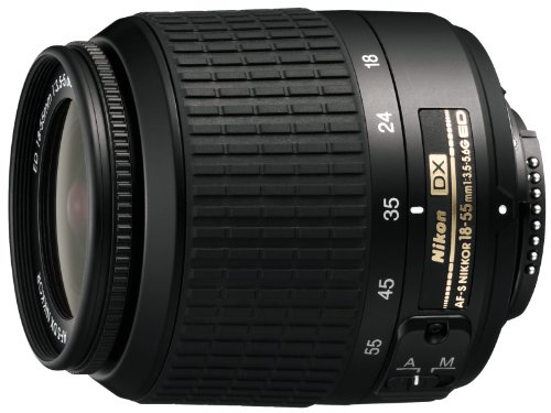 Nikon 18-55mm f/3.5-5.6G ED Auto Focus-S DX Non-VR Nikkor Zoom Lens (Discontinued by Manufacturer) product image