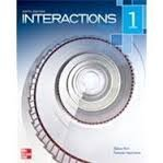 Interactions Level 1 Reading Student Book  6th 9780077595074 Front Cover