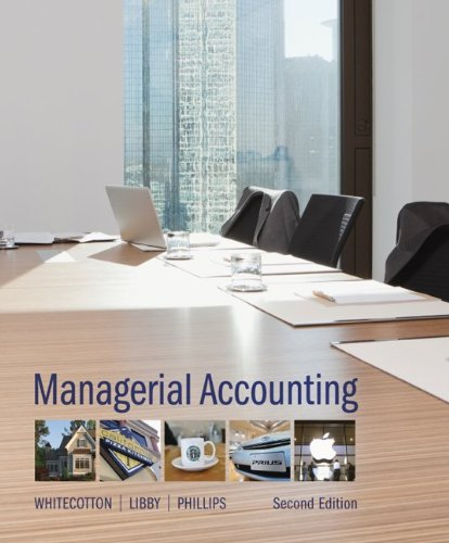 Managerial Accounting  2nd 2014 9780077722074 Front Cover