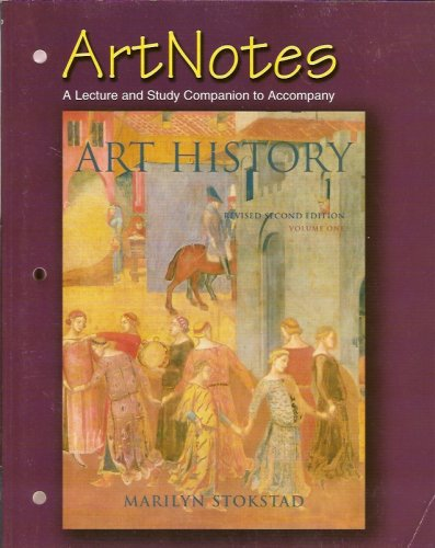 Art History ArtNotes 2nd 2005 (Revised) 9780131466074 Front Cover
