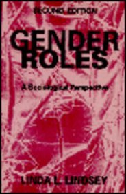Gender Roles A Sociological Perspective 2nd 1994 9780133503074 Front Cover