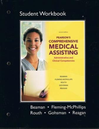 Medical Assisting  2nd 2011 (Student Manual, Study Guide, etc.) edition cover