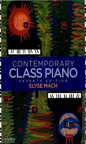 Contemporary Class Piano  7th 9780195389074 Front Cover