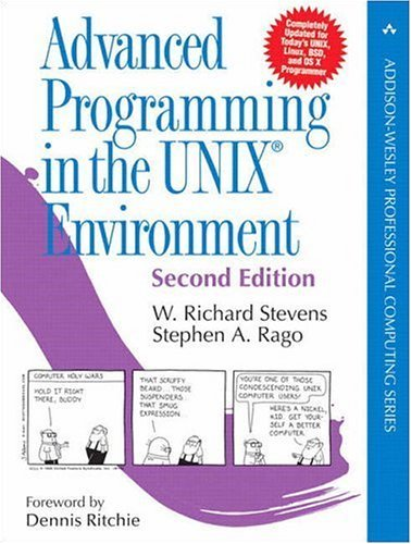 Advanced Programming in the UNIX Environment  2nd 2005 (Revised) edition cover